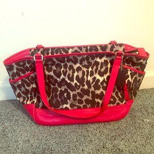 Coach cheetah print bag